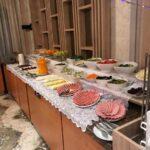 محوطه صبحانه هتل گلدن سیتی باکو