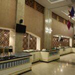 محوطه صبحانه هتل خزری باکو