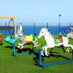 محوطه بازی کودکان در هتل خزری باکو
