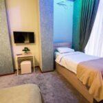 تخت اضافه در اتاق های هتل نیو کستل بوتیک باکو