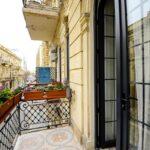 بالکن اتاق های هتل رنسانس بوتیک باکو