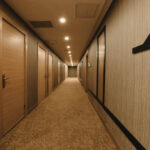 محوطه هتل اسکای باکو