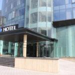ساختمان هتل اسکای باکو