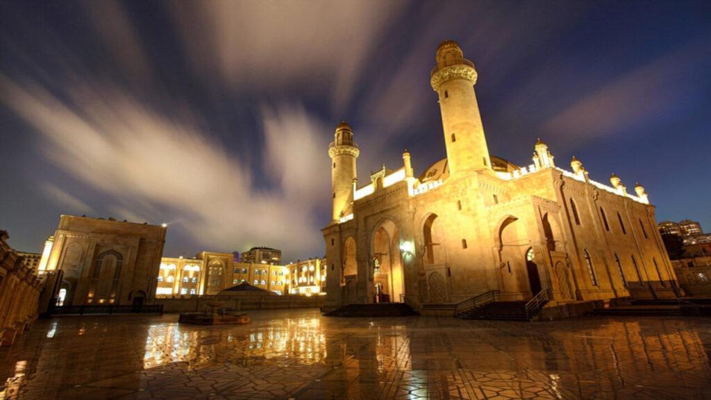 تصویری از مسجد تازه پیر باکو