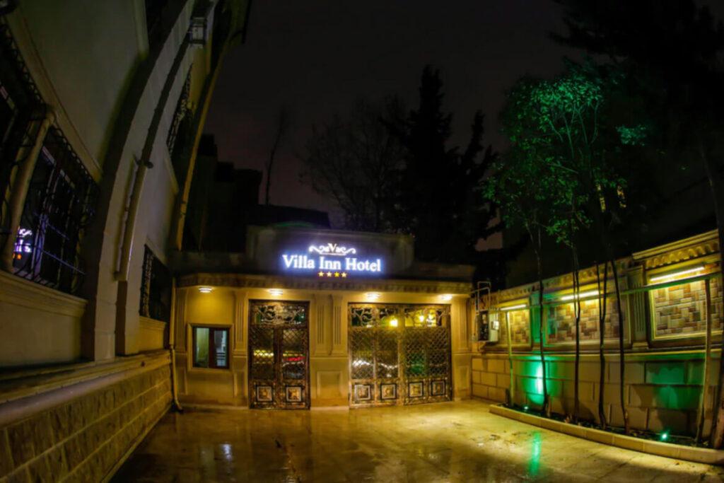 درب ورودی هتل ویلا این باکو