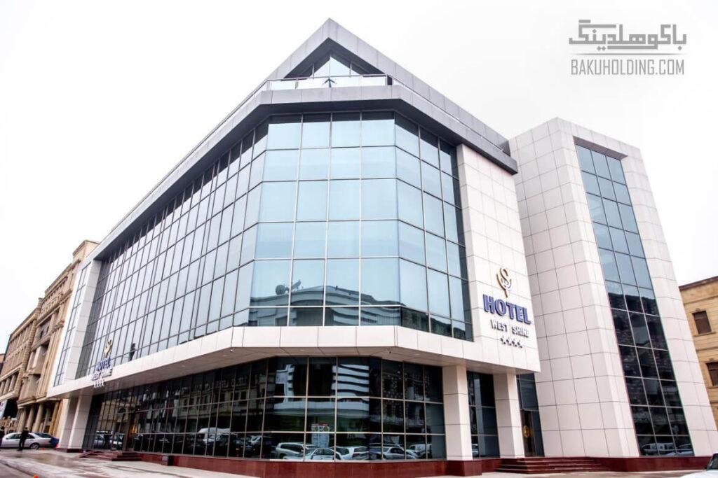 ساختمان هتل وست شاین باکو