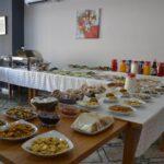 محوطه صبحانه هتل زمزم باکو