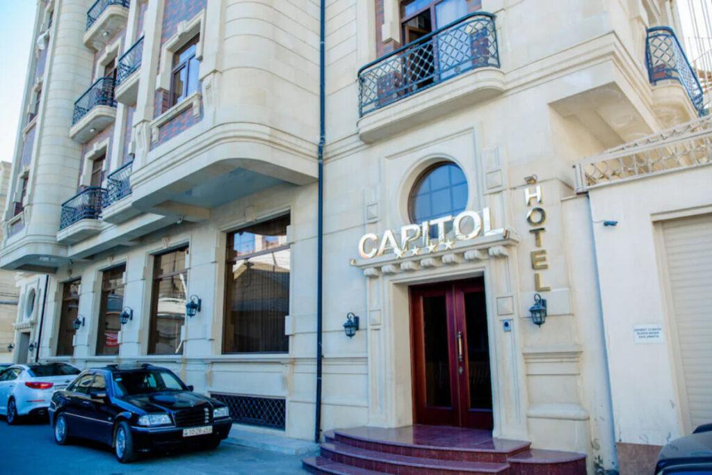ساختمان هتل کپیتول باکو