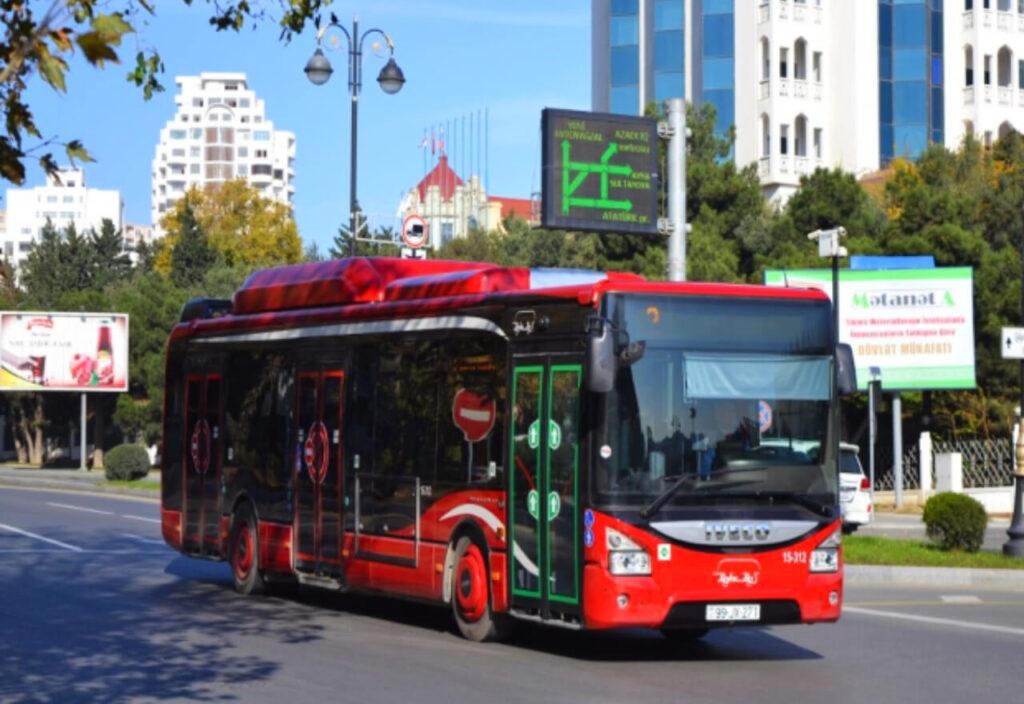 حمل و نقل عمومی در باکو