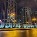 ساختمان هتل کاسپین اسپرت باکو