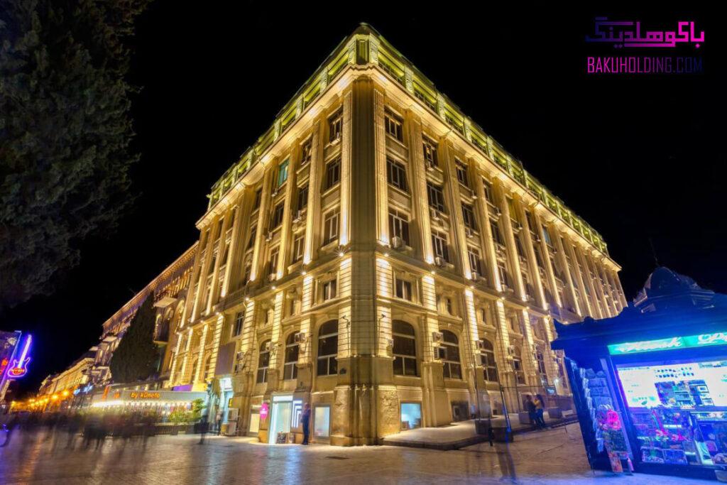ساختمان هتل سیتی باکو
