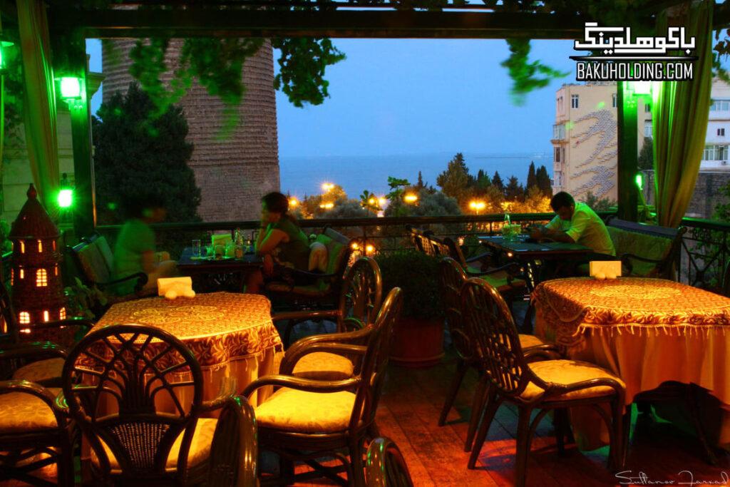 رستوران هتل میوزیم این بویتک باکو