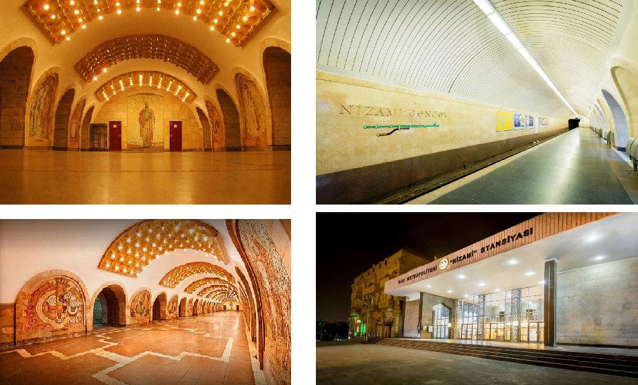 تصویری از متروی نظامی گنجوی