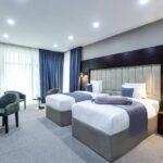 اتاق توئین هتل پارالل باکو