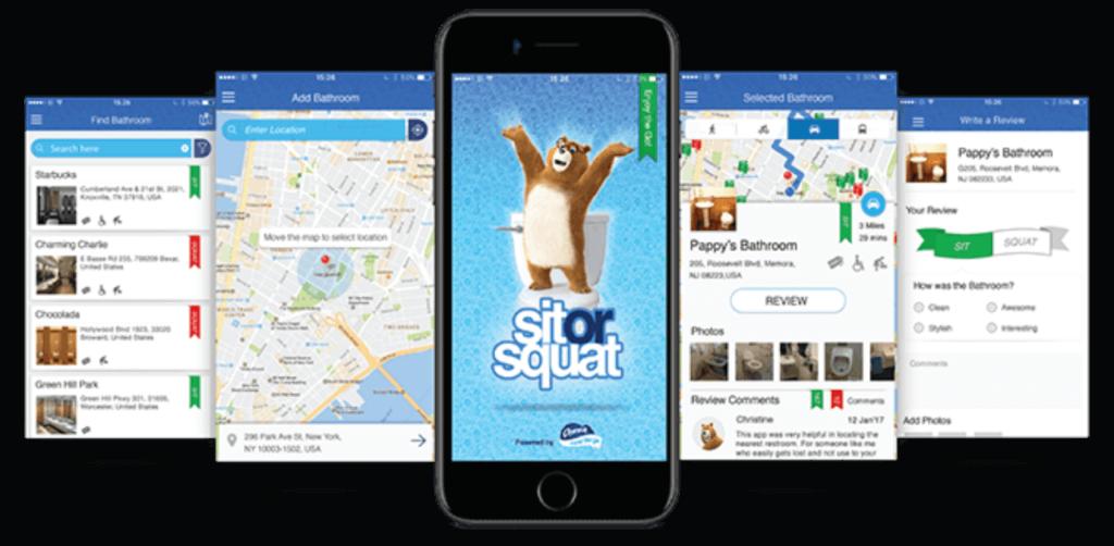 تصویری از اپلیکیشن Sit or Squat