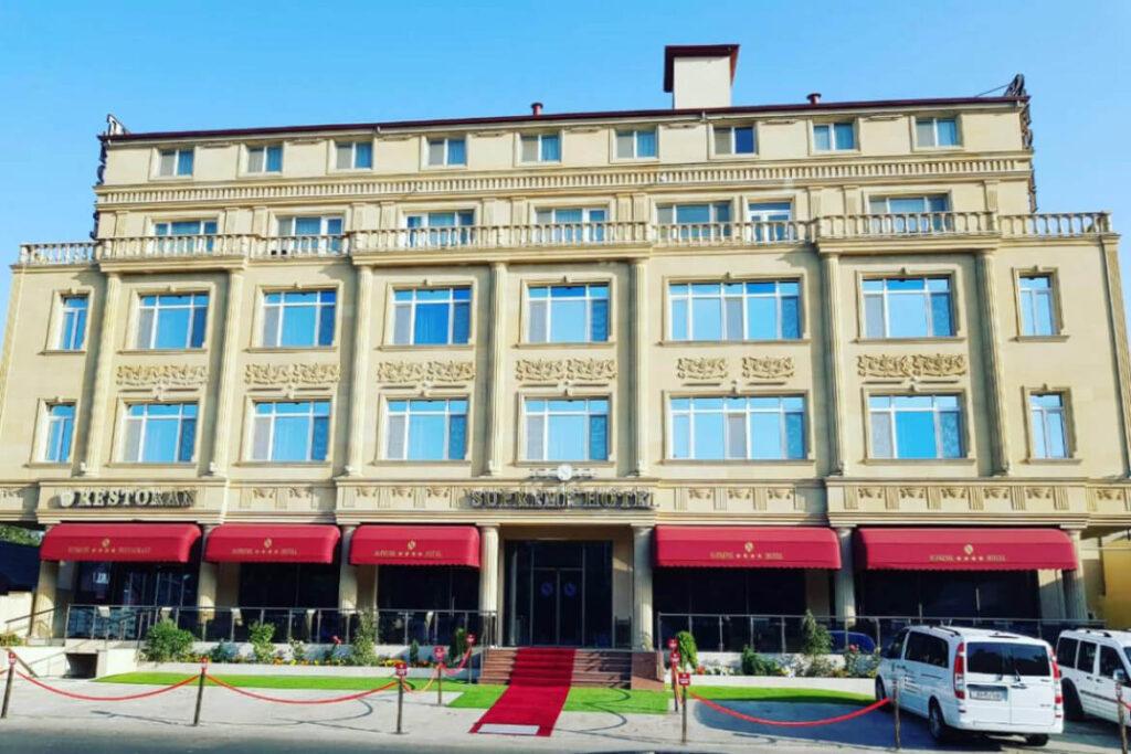 ساختمان هتل سوپریم باکو