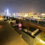 محوطه هتل تراس باکو