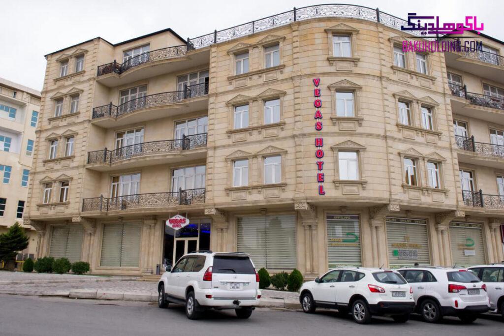 ساختمان هتل وگاس باکو