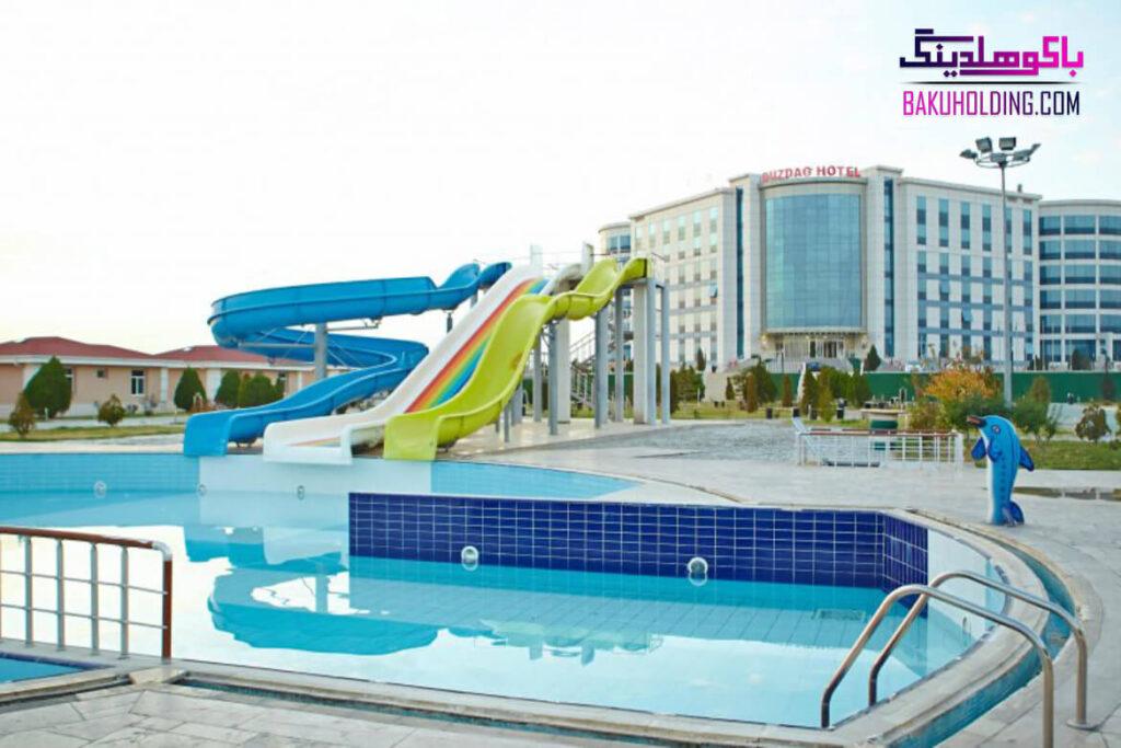 پارک آبی هتل دوزداغ نخجوان