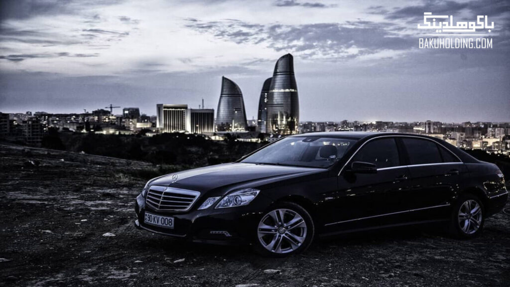 بنر اجازه ماشین در باکو