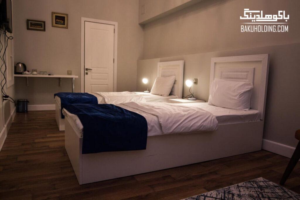 اتاق توئین هتل سیتدال بوتیک باکو