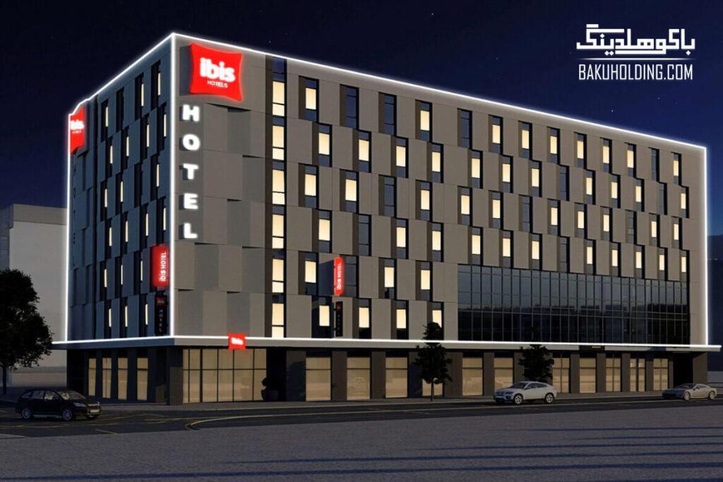 ساختمان هتل آیبیس باکو سیتی