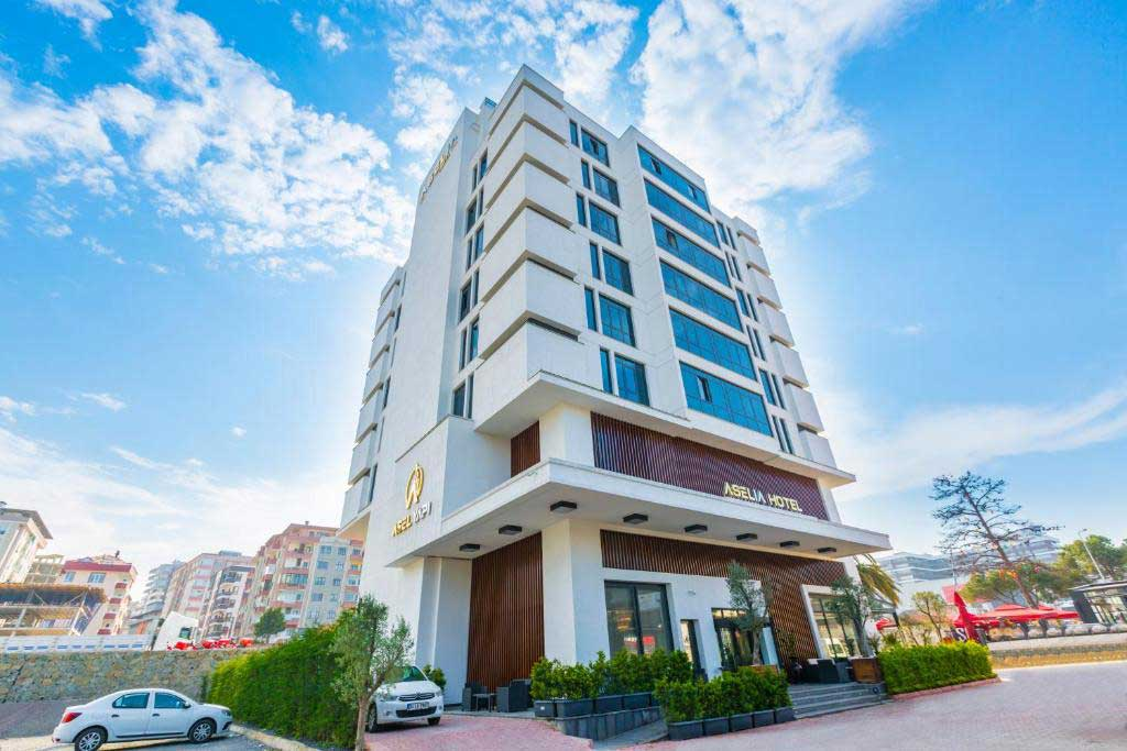 ساختمان هتل آسلیا ترابزون